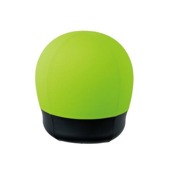 CMC CMC スツール型バランスボール/オフィスチェア 〔タイヤタイプ〕 グリーン(緑) BC-S GR