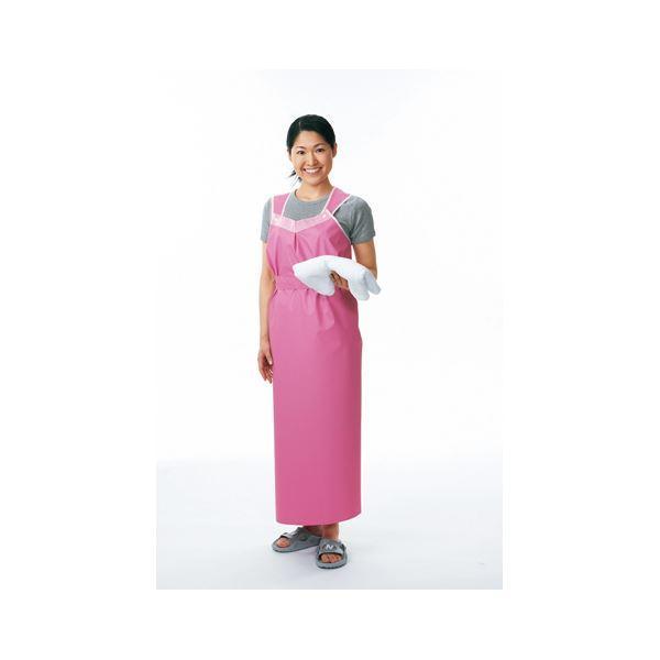 【初回限定】 ピジョン 11249 入浴介助エプロン 軽やか介助用エプロン(2)ロングタイプ女ピンク-介護用品