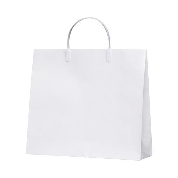 (まとめ)今村紙工 白コーティングバック10枚KWCB-02〔×5セット〕