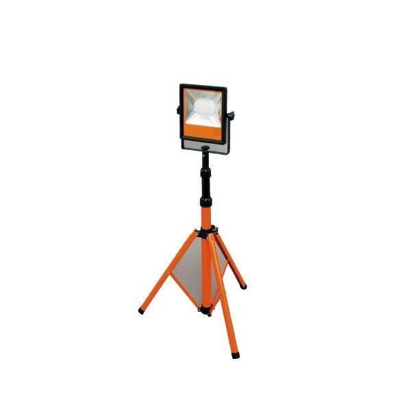 (まとめ)アイリスオーヤマ LEDスタンドライト 5000lm LWT-5000ST〔×5セット〕