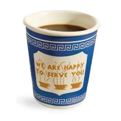 ニューヨークのコーヒーショップで定番の紙コップ。でもこれ実は…