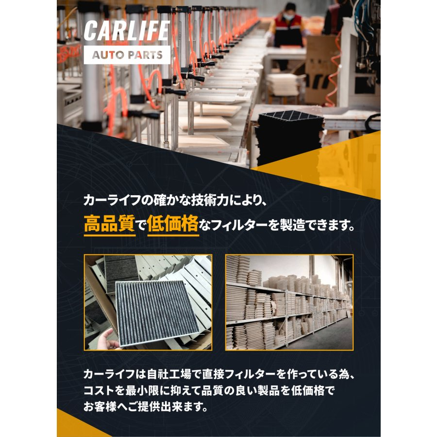 ハスラー H26.1~H30.11 特殊3層構造 活性炭入り 95861-50ME0 エアコンフィルター|rinne-store|03