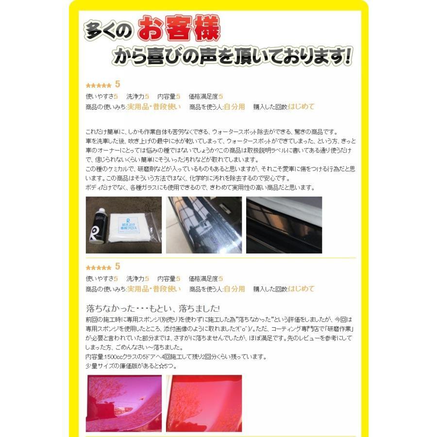 イオンデポジット除去剤 ウォータースポット イオンデポジット 水垢 雨ジミ スケール ウロコ 鱗状痕 シリカ リピカ ( イオンデポジットクリーナー 200ml )|ripicar|06