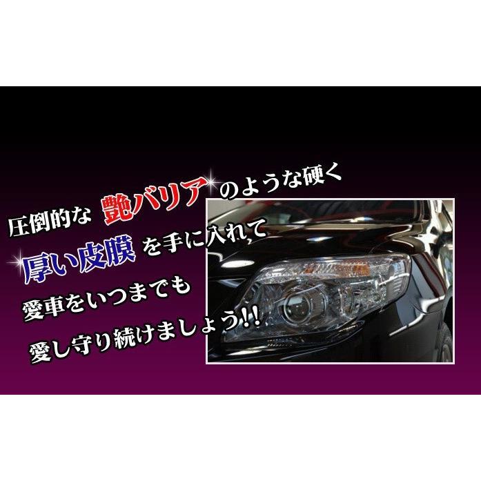 ガラスコーティング剤 最強 業務用 コーティング剤 車 カーコーティング剤 カーワックス 艶 油膜 水垢 親水 撥水 滑水 疎水 リピカ ( THPプロ )|ripicar|06