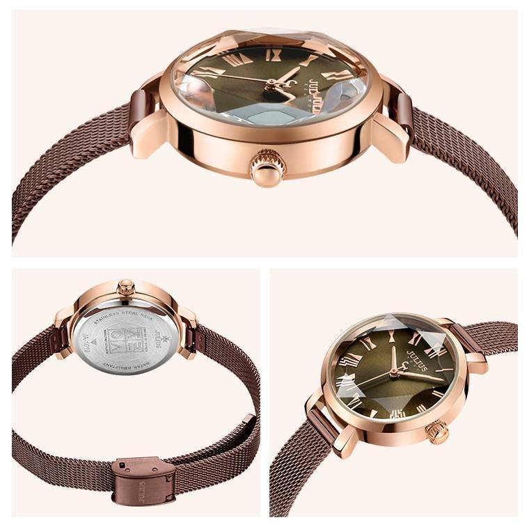 腕時計 レディース 防水 時計 おしゃれ ブランド シンプル 人気 オフィス ピンクゴールド 20代 30代 40代 50代 JULIUS プレゼント 母の日 ギフト|rirty|18