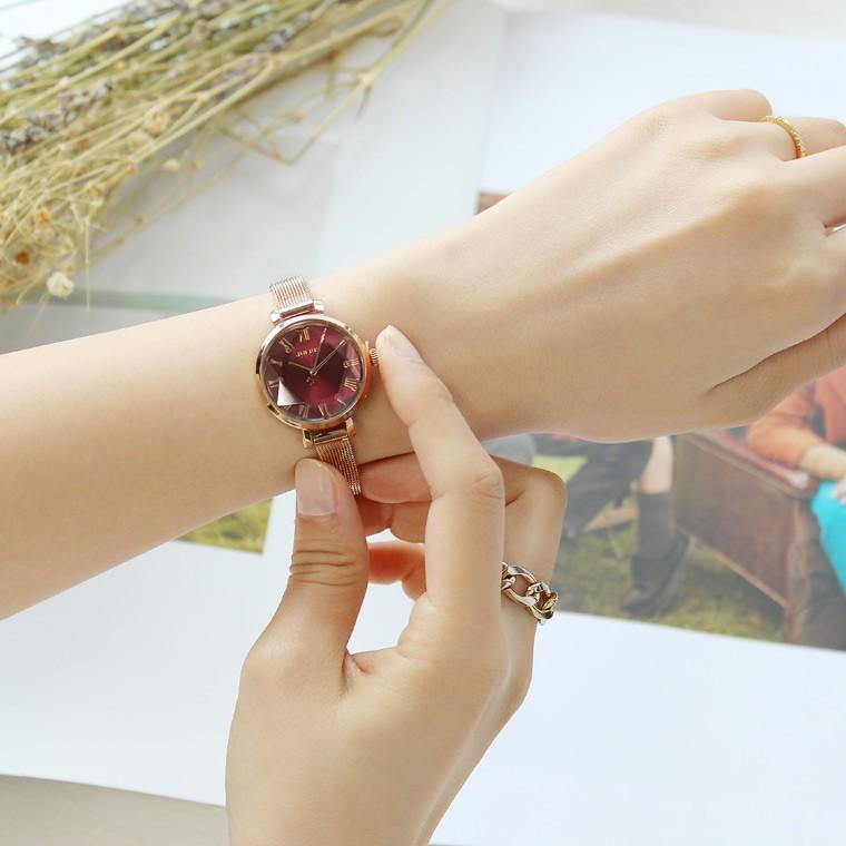腕時計 レディース 防水 時計 おしゃれ ブランド シンプル 人気 オフィス ピンクゴールド 20代 30代 40代 50代 JULIUS プレゼント 母の日 ギフト|rirty|04