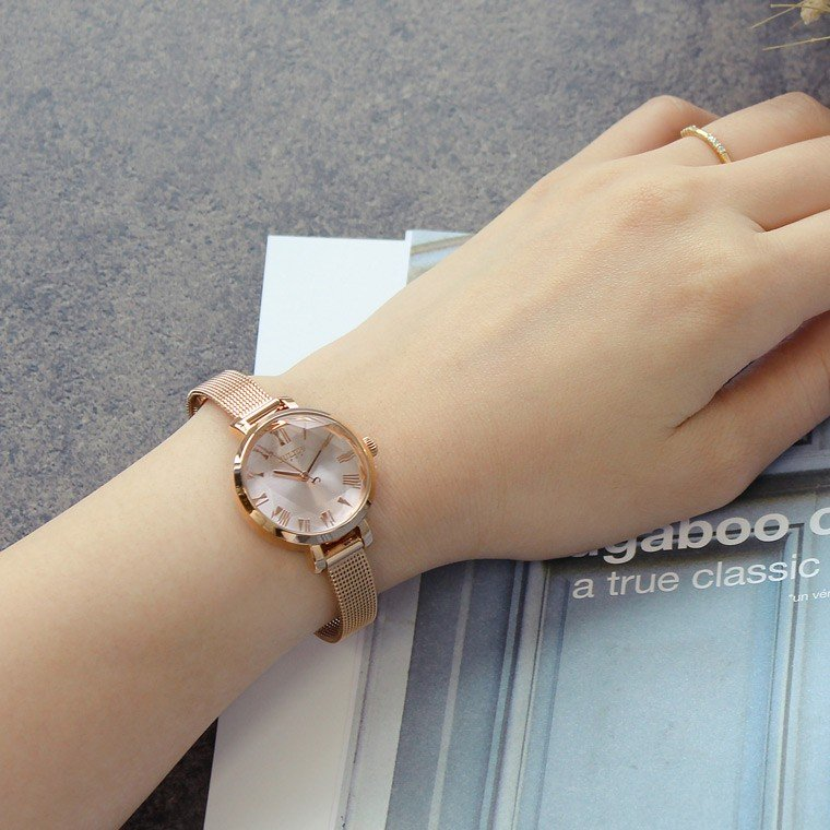 腕時計 レディース 防水 時計 おしゃれ ブランド シンプル 人気 オフィス ピンクゴールド 20代 30代 40代 50代 JULIUS プレゼント 母の日 ギフト|rirty|05