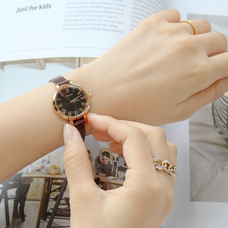 腕時計 レディース 防水 時計 おしゃれ ブランド シンプル 人気 オフィス ピンクゴールド 20代 30代 40代 50代 JULIUS プレゼント 母の日 ギフト|rirty|06