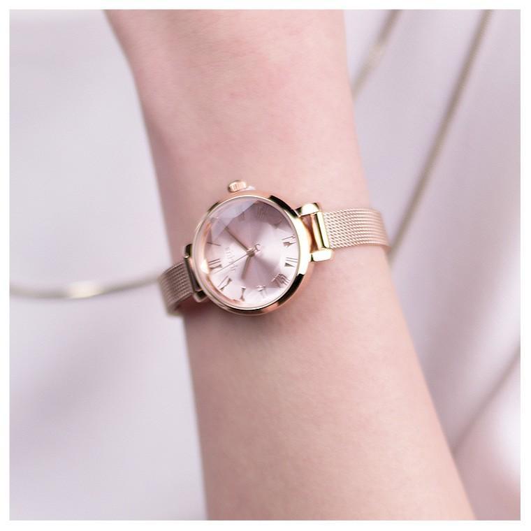 腕時計 レディース 防水 時計 おしゃれ ブランド シンプル 人気 オフィス ピンクゴールド 20代 30代 40代 50代 JULIUS プレゼント 母の日 ギフト|rirty|10