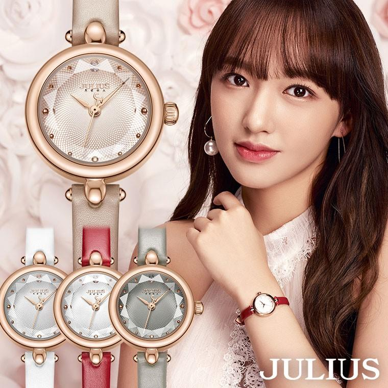 腕時計 レディース セール特価品 ブランド 時計 防水 ウォッチ おしゃれ カジュアル 10代 20代 30代 母の日 特価キャンペーン プレゼント 40代 JULIUS 革ベルト 50代 ギフト
