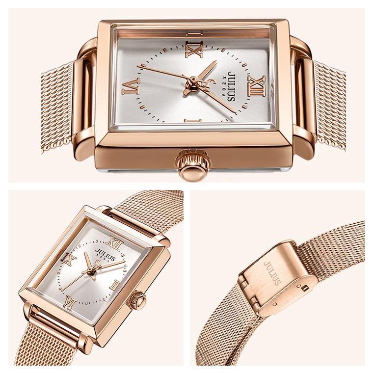 腕時計 レディース ブランド 防水 レディース腕時計 おしゃれ 時計 スクエア 四角 ミラネーゼ 人気 20代 30代 40代 JULIUS プレゼント 母の日 ギフト|rirty|12