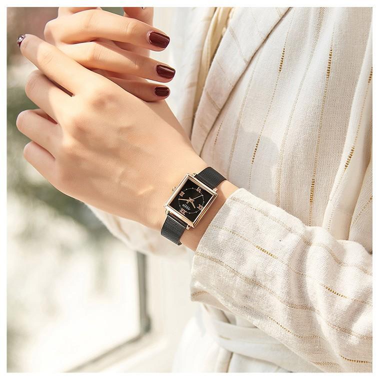 腕時計 レディース ブランド 防水 レディース腕時計 おしゃれ 時計 スクエア 四角 ミラネーゼ 人気 20代 30代 40代 JULIUS プレゼント 母の日 ギフト|rirty|03