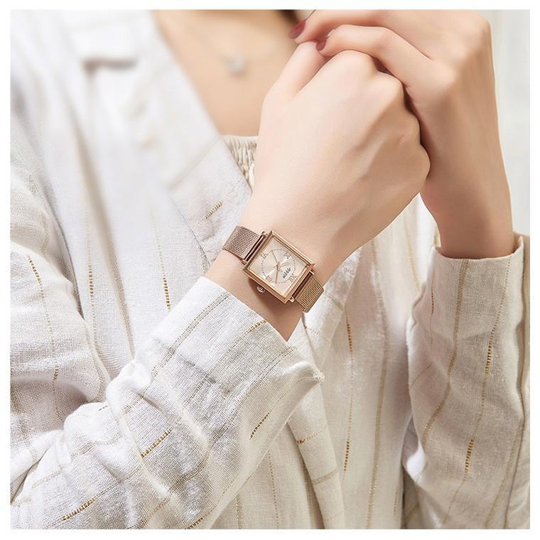 腕時計 レディース ブランド 防水 レディース腕時計 おしゃれ 時計 スクエア 四角 ミラネーゼ 人気 20代 30代 40代 JULIUS プレゼント 母の日 ギフト|rirty|04
