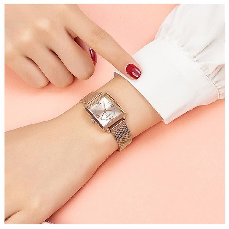 腕時計 レディース ブランド 防水 レディース腕時計 おしゃれ 時計 スクエア 四角 ミラネーゼ 人気 20代 30代 40代 JULIUS プレゼント 母の日 ギフト|rirty|05