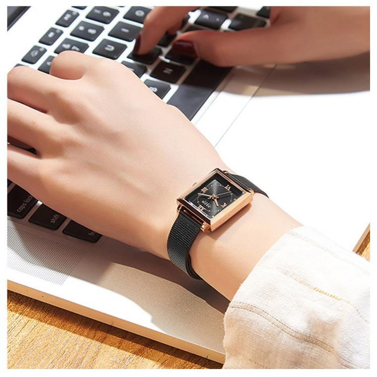 腕時計 レディース ブランド 防水 レディース腕時計 おしゃれ 時計 スクエア 四角 ミラネーゼ 人気 20代 30代 40代 JULIUS プレゼント 母の日 ギフト|rirty|06