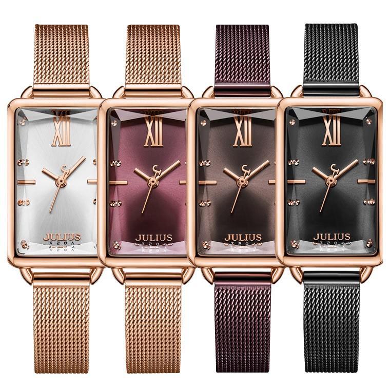 腕時計 レディース ブランド 防水 レディース腕時計 おしゃれ 人気 四角 スクエア 20代 30代 40代 50代 スクエア型 JULIUS プレゼント 母の日 ギフト|rirty|02