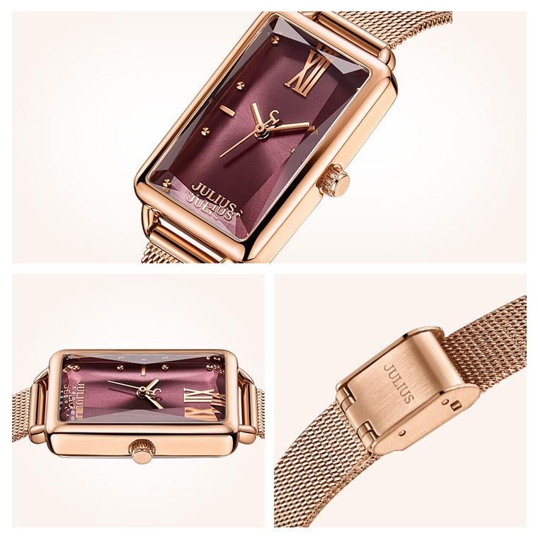 腕時計 レディース ブランド 防水 レディース腕時計 おしゃれ 人気 四角 スクエア 20代 30代 40代 50代 スクエア型 JULIUS プレゼント 母の日 ギフト|rirty|12