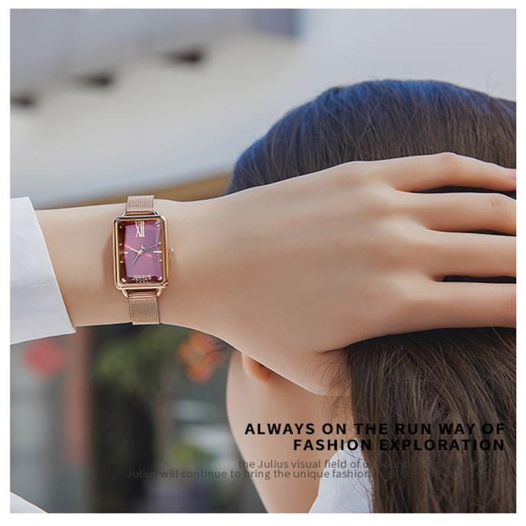 腕時計 レディース ブランド 防水 レディース腕時計 おしゃれ 人気 四角 スクエア 20代 30代 40代 50代 スクエア型 JULIUS プレゼント 母の日 ギフト|rirty|04