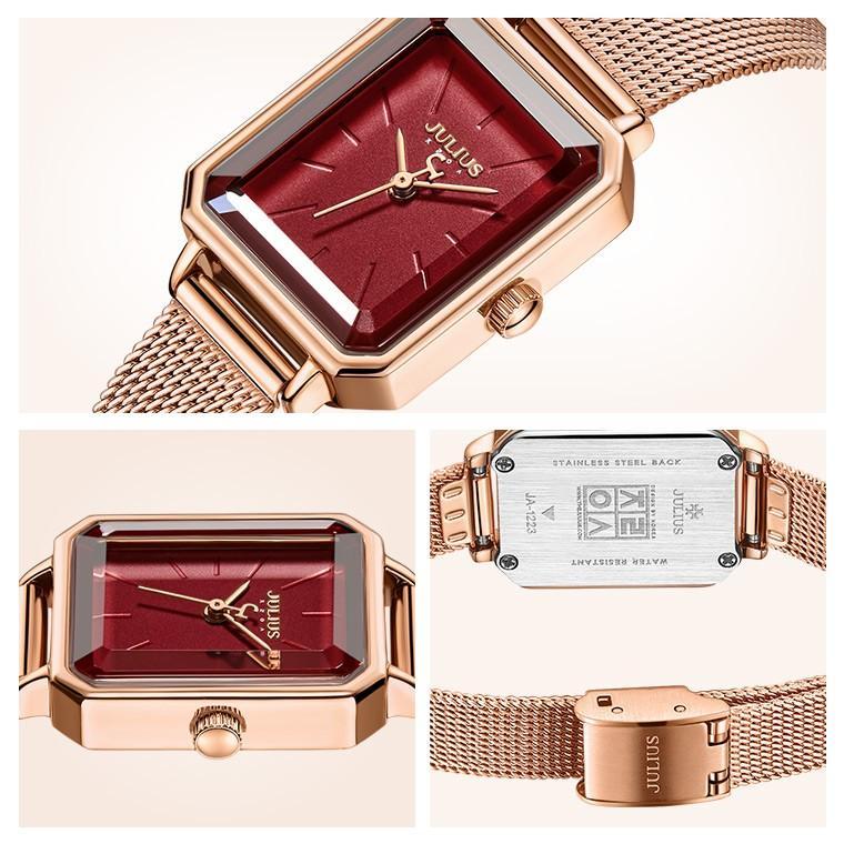 腕時計 レディース ブランド 防水 レディース腕時計 おしゃれ 人気 スクエア型 四角 20代 30代 40代 50代 JULIUS プレゼント 母の日 ギフト 送料無料|rirty|13