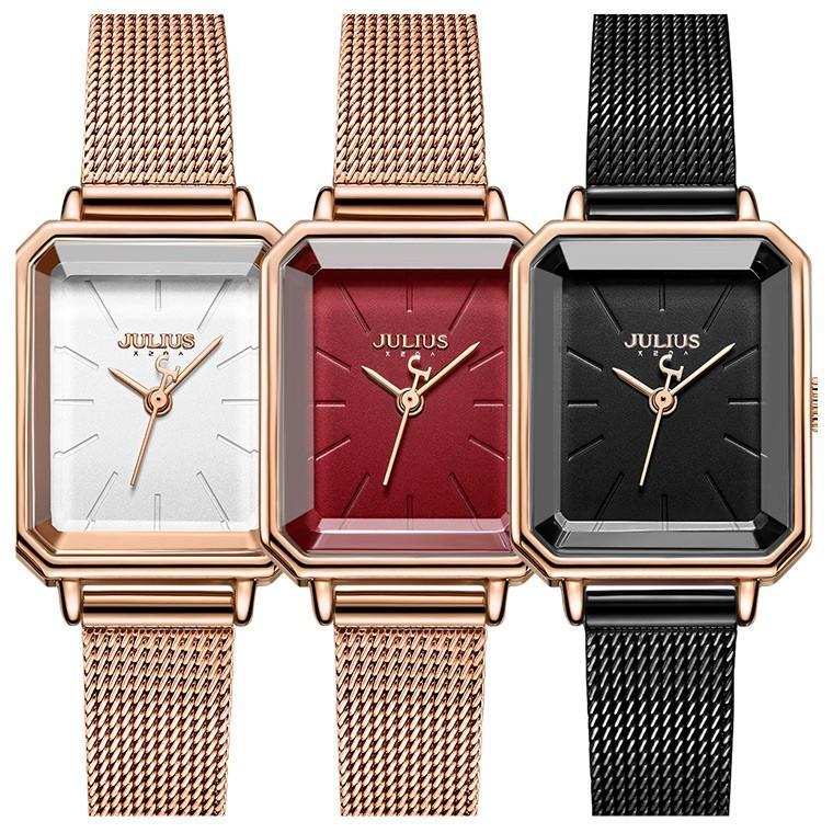 腕時計 レディース ブランド 防水 レディース腕時計 おしゃれ 人気 スクエア型 四角 20代 30代 40代 50代 JULIUS プレゼント 母の日 ギフト 送料無料|rirty|03