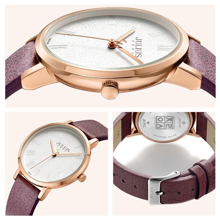 腕時計 レディース 時計 ブランド 防水 おしゃれ かわいい シンプル 30代 40代 50代 革ベルト カジュアル 20代 JULIUS プレゼント 母の日 ギフト 送料無料|rirty|14