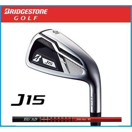 2015年モデル ブリヂストンゴルフ J15 アイアン  単品 #4 AW SW  Tour AD J15-11I カーボンシャフト