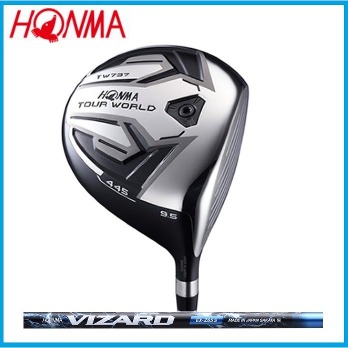 ☆日本仕様 ホンマゴルフ HONMA TOUR WORLD ツアーワールド TW737 445 ドライバー VIZARD EX-Z65 カーボンシャフト