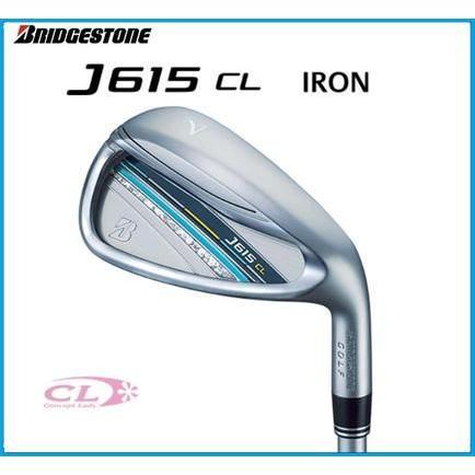 2015年モデル ブリヂストンゴルフ J615 CL レディースアイアン 単品 #5 #6 AW J15-31I カーボンシャフト