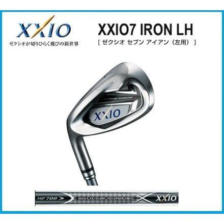 2012年モデル ダンロップ 左 レフティー XXIO7ゼクシオ セブンアイアン 5本セット(#6〜9、PW) ゼクシオMP700カーボンシャフト 日本正規品