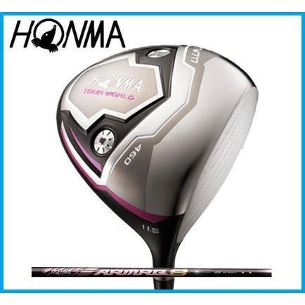本間ゴルフ HONMA レディース TOUR WORLD  WORLD  WORLD  ツアーワールド TW717 460  レディース ドライバー  ARMRQ8 3S カーボンシャフト a9e