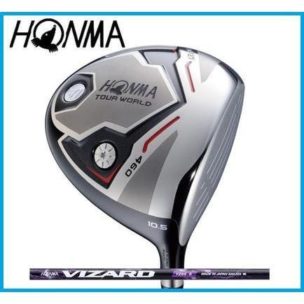 本間ゴルフ HONMA TOUR WORLD ホンマ ツアーワールド TW727 460 ドライバー VIZARD YZ カーボンシャフト