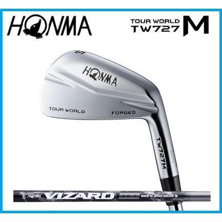 本間ゴルフ HONMA TOUR WORLD ツアーワールド TW727M  アイアン6本セット(#5-10) VIZARD カーボンシャフト