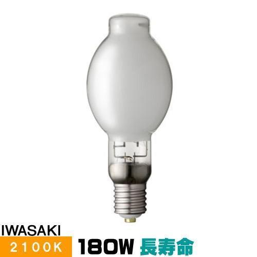 岩崎 NH180FTW-LS 高圧ナトリウムランプ 180W 一般形 透明形 FECツイン ...