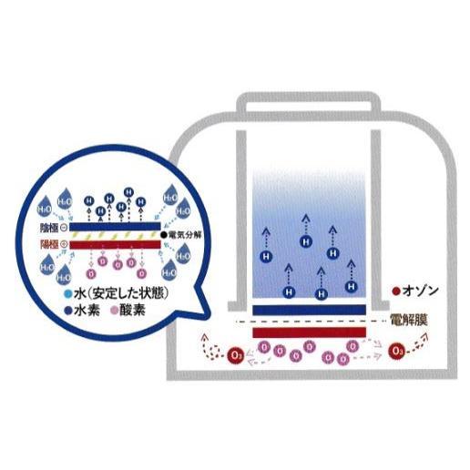 H2 Gas Station VitalShare 【冷却機能仕様】水素ガス吸入器バイタルシェア 水素水生成器 AWH008-2 【水素濃度:20000〜40000ppm】 日省エンジニアリング |rising-jp|03