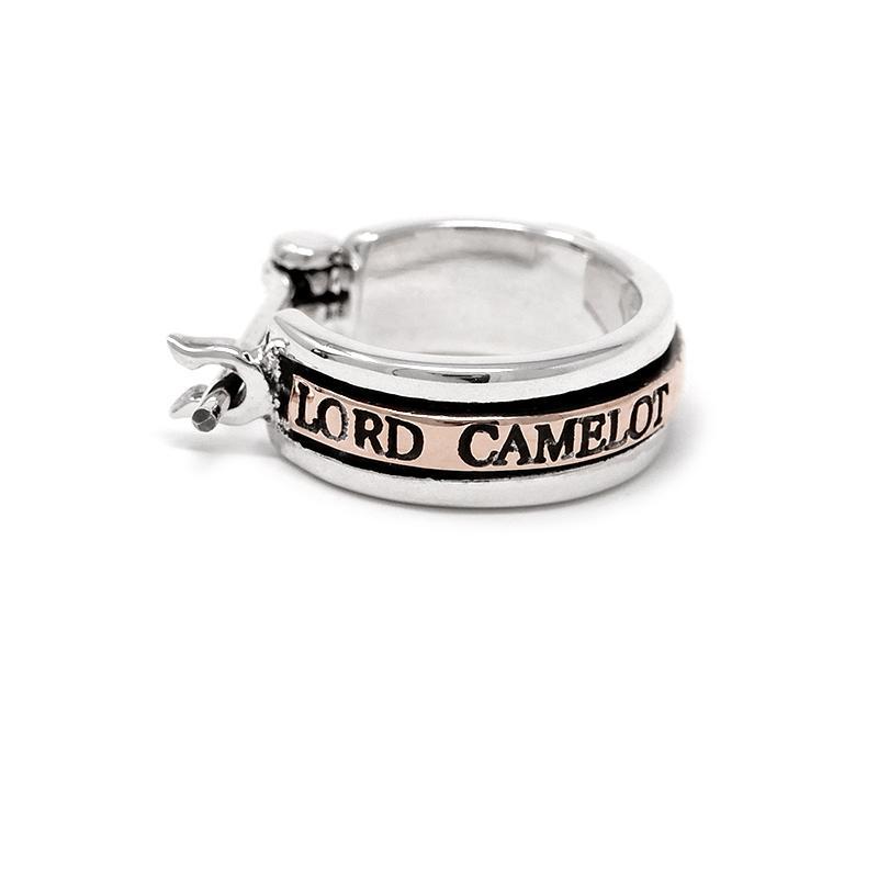 ロードキャメロット フープピアス LC525 シルバー925×ロイヤルシルバー Lord Camelot シルバーピアス 1点売り 片耳用 プレゼント ケース付き メンズ ブランド|rismtown-y|06