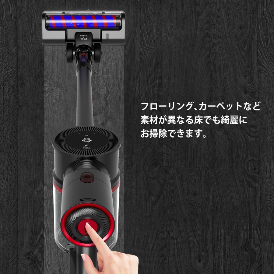 掃除機 コードレス モップクリーナー 電動 モップ 水拭き LEDライト 高速振動 水拭き?充電式モップクリーナー モップクリーナー 充電式 モップ クリーナー risou-shop 06