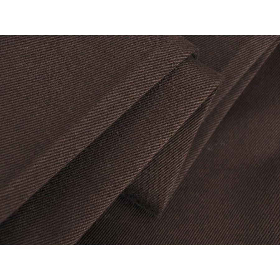 ピーティーゼロウーノ PT01 FORWARD Style:04 コットン スラックスパンツ ダークブラウン 28|ritagliolibro|11
