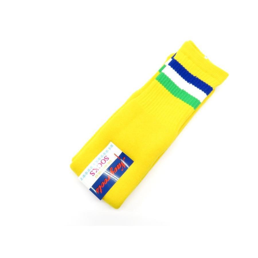 ネイビールーツ NAVY ROOTS コットン×アクリル パイルソックス 靴下 イエロー 25-27cm(ワンサイズ)|ritagliolibro|02