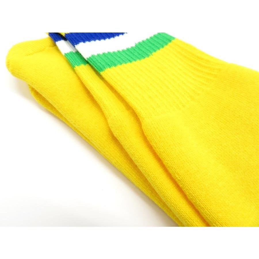 ネイビールーツ NAVY ROOTS コットン×アクリル パイルソックス 靴下 イエロー 25-27cm(ワンサイズ)|ritagliolibro|05