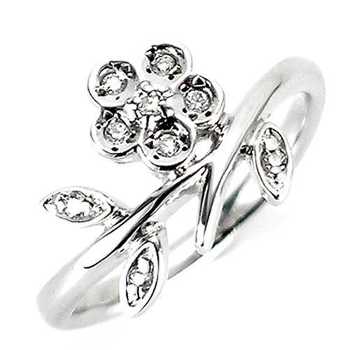好きに ピンキーリング レディース オシャレ 新品 指輪 フラワー 10金 K10WG K10PG K10YG ダイヤモンド シングル フラワー 新品 女性 かわいい オシャレ, SOYOUS(ソユーズ):d607f493 --- airmodconsu.dominiotemporario.com