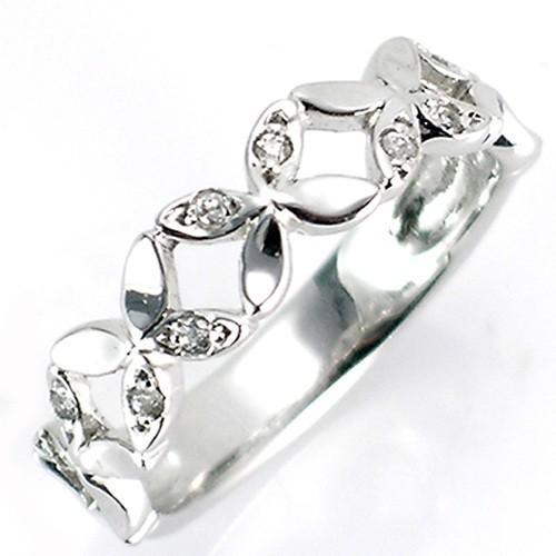 出産祝い ピンキーリング レディース 指輪 オシャレ 18金 K18WG K18YG K18PG K18YG ダイヤモンド フラワー フラワー バンド 新品 女性 かわいい オシャレ, DIYショップ ルームファクトリー:1318d7b4 --- airmodconsu.dominiotemporario.com