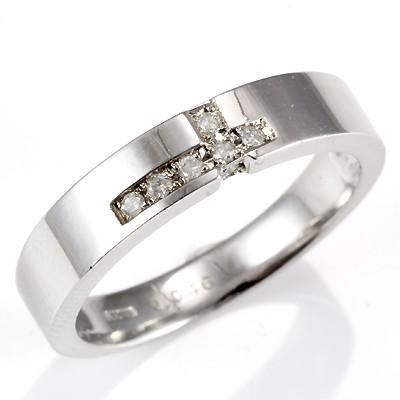 想像を超えての リング レディース 指輪 D0.046 10金 K10WG ダイヤ 新品 女性 かわいい オシャレ, 腕時計&雑貨 イデアル 6ad9793c