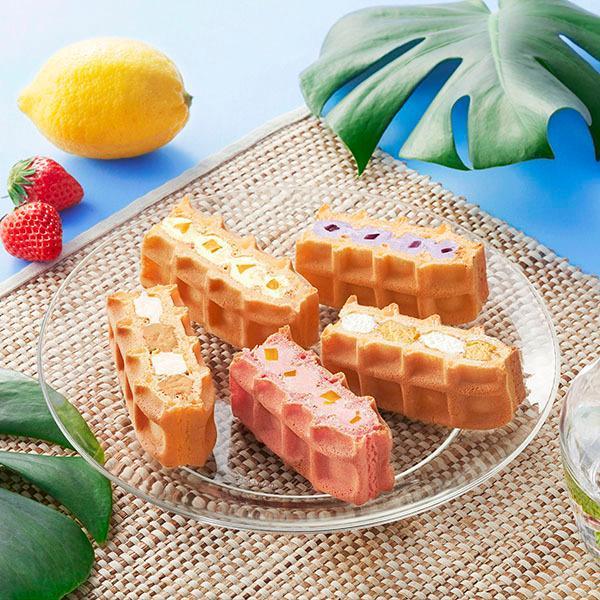 お取り寄せ スイーツ 2021 バレンタイン 季節 ワッフル ケーキ 10個セット|rl-waffle|08