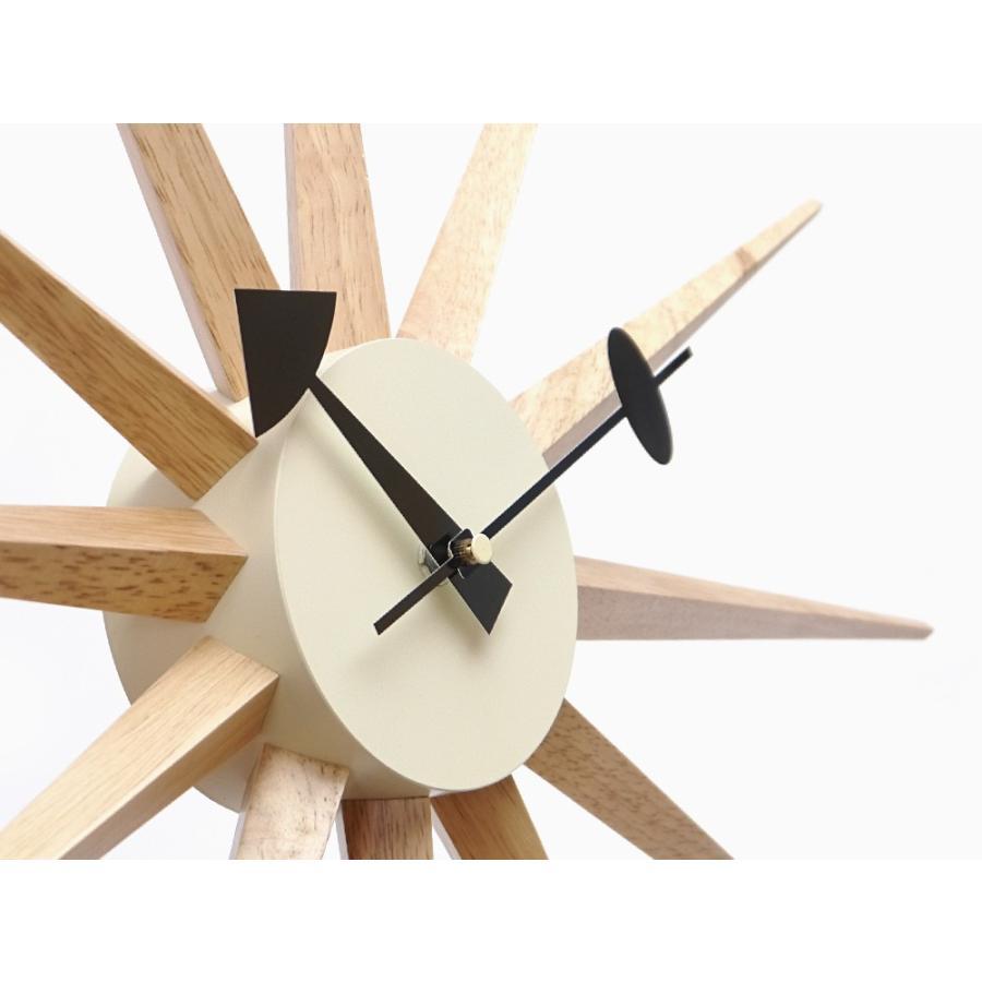 サンバーストクロック ナチュラル ジョージ・ネルソン 掛時計 ネルソンクロック|rmjapan|04