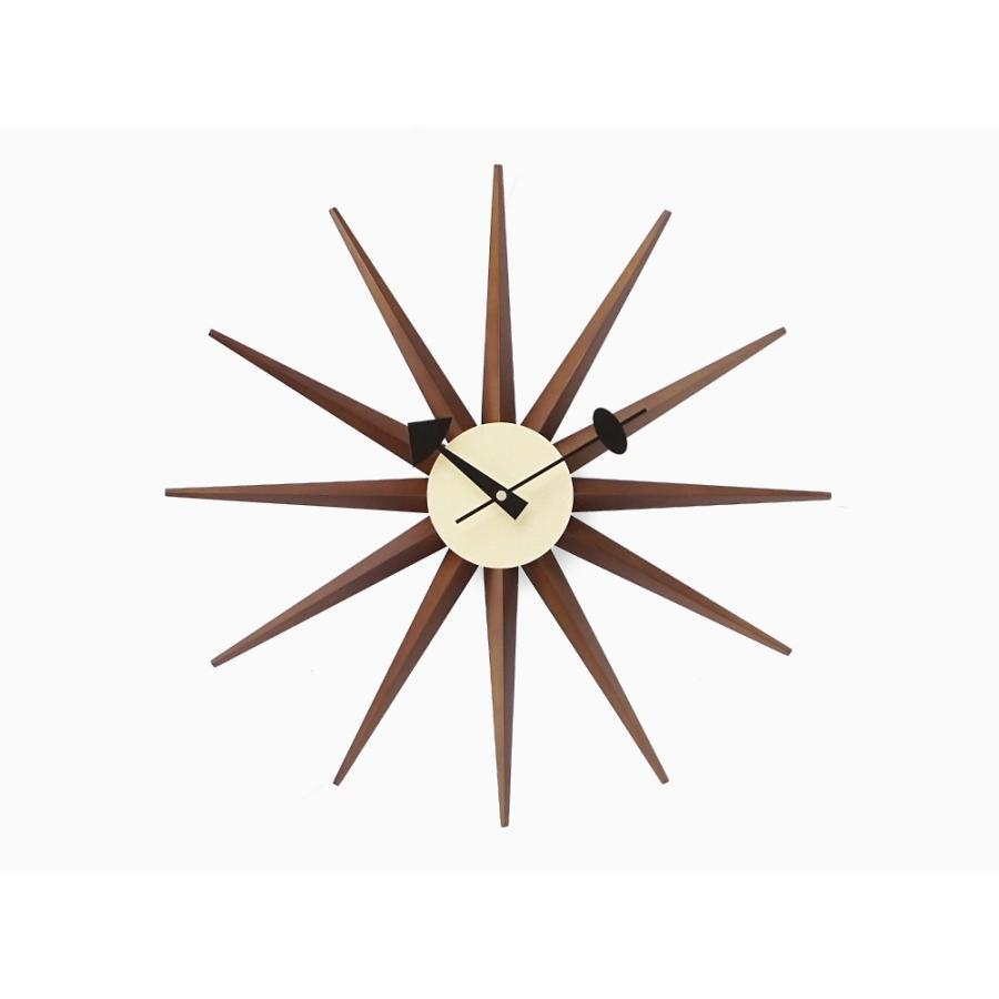 サンバーストクロック ブラウン ジョージ・ネルソン 掛時計|rmjapan|02