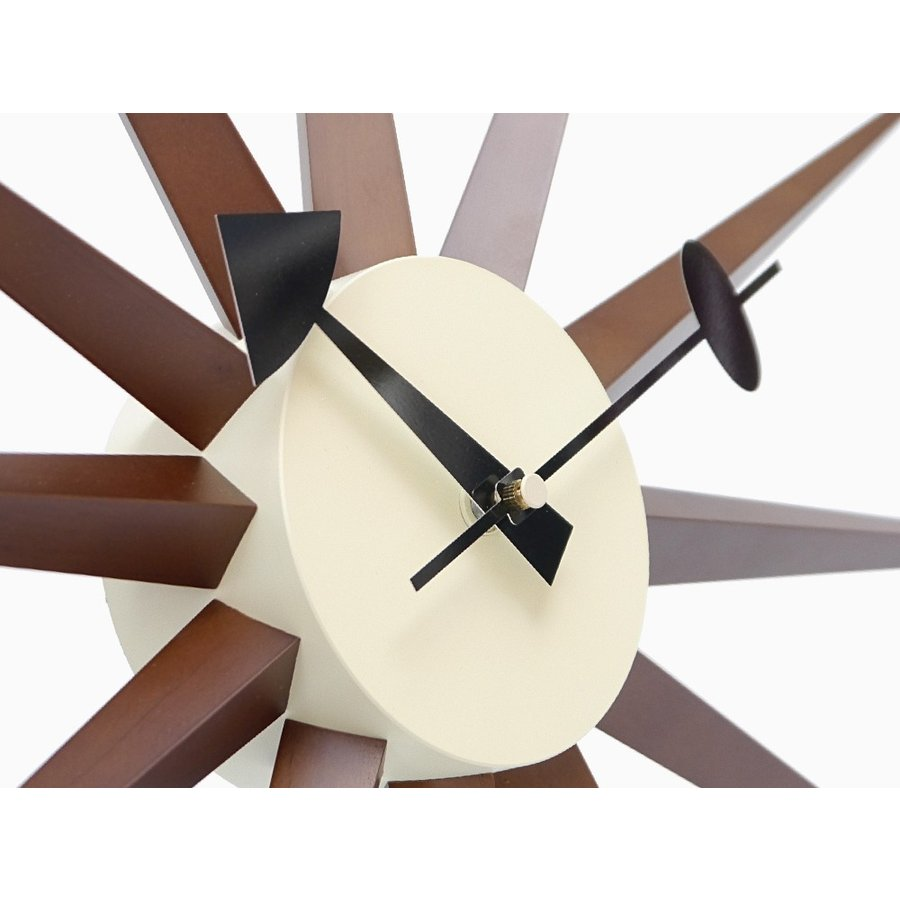 サンバーストクロック ブラウン ジョージ・ネルソン 掛時計|rmjapan|03