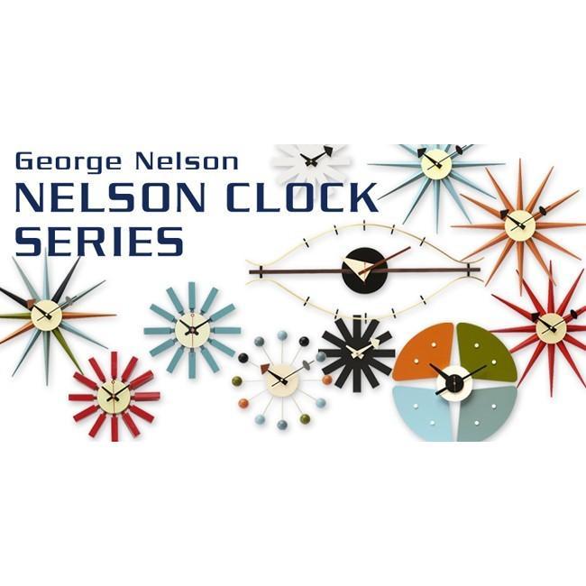 サンバーストクロック ウォールナット材 ジョージ・ネルソン 掛時計|rmjapan|06