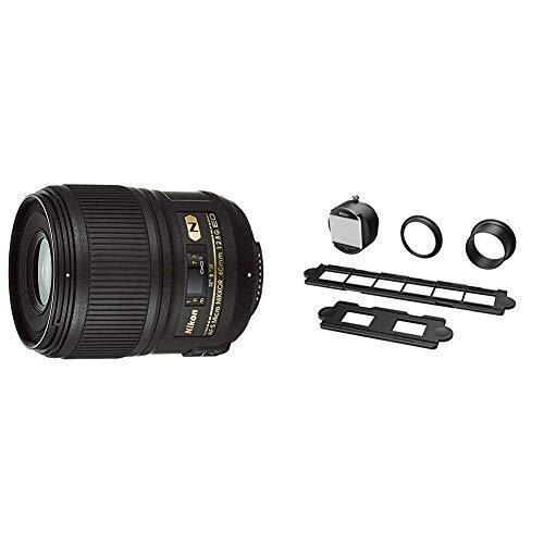 セット買いNikon 単焦点マイクロレンズ AF-S Micro 60mm f/2.8G ED フルサイズ対応 & フィルムデジタイズアダプ
