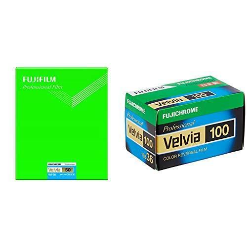 セット買いFUJIFILM リバーサルフィルム フジクローム Velvia 50 シート 20枚 CUT VELVIA50 NP 8X10