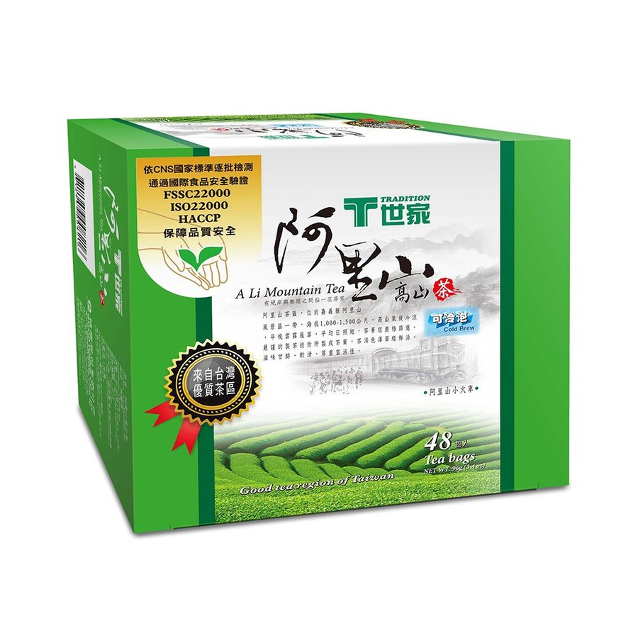 T世家》 阿里山高山茶 2g×48入(台灣優質茶) 《台湾 お土産 ...